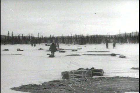Soldiers stationed in Alaska practice a defense ma Footage
