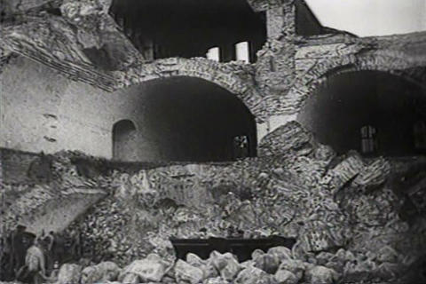 Hoher Kavalier fortress is demolished in Germany i Live Action