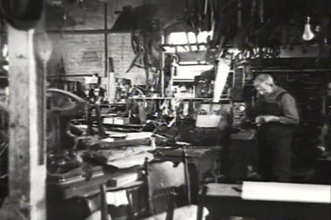Goodwill Industries in operation in 1934 Footage