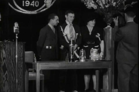 Ford Awards Good Drivers In 1941 stock footage