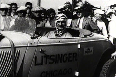 National stock car race won by Ford V-8 in 1933 Live Action
