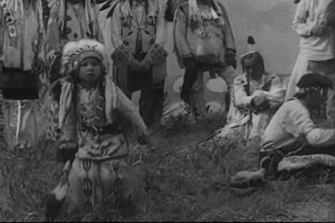 The wonders of Glacier National Park in 1939 as mo Footage