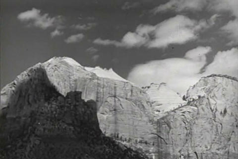 A travelogue of Zion National park, Utah in 1940 Live Action