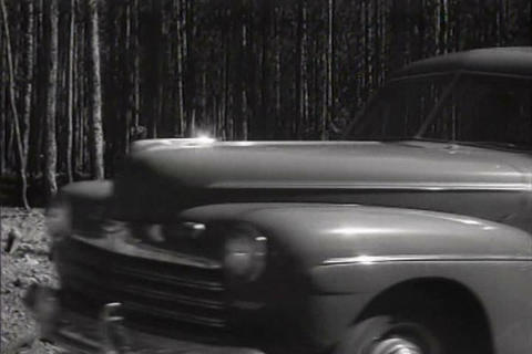Yellowstone National Park in 1940s open to tourist Footage