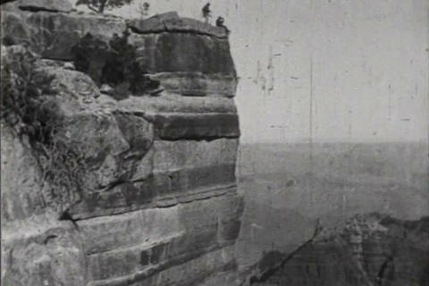 The Grand Canyon in 1919 Footage
