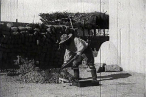 American Indians of the Southwest in 1941 build ad Footage