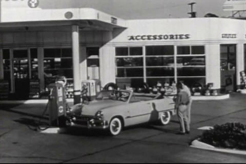A driver's training film from the 1950s emphasizes Live Action
