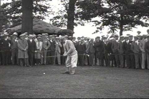 Professional golfers of 1925 Footage
