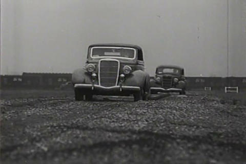 Advertisement for the new Ford V-8 for 1935 Live Action