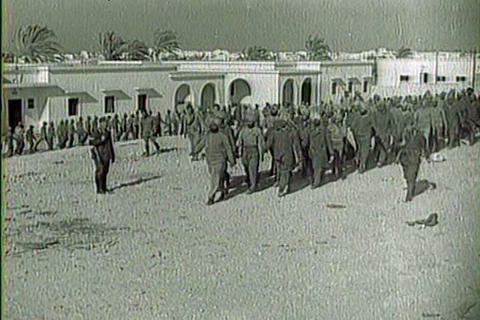 Captured Italian war film from 1941 shows scenes o Live Action