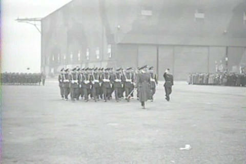 Captured Italian War Film From 1941 Shows Medal Of stock footage
