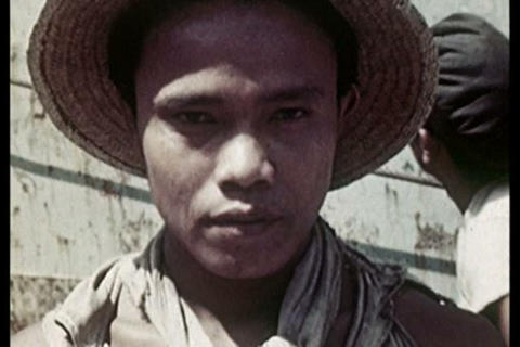 The port of Jakarta Indonesia in the 1930s Live Action