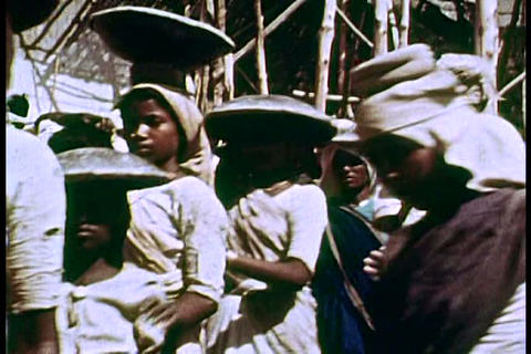 Indian caste workers in the 1960s Live Action