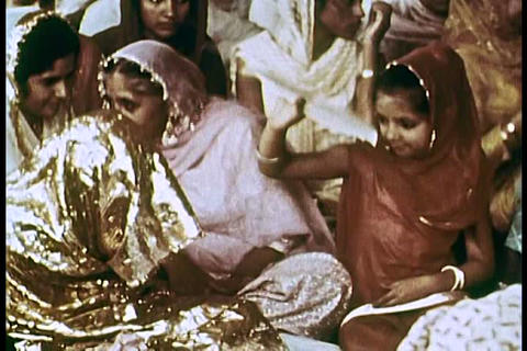 An Indian wedding and cremation ceremony in the 19 Live Action