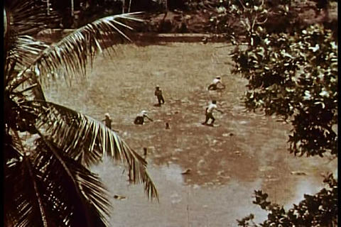 The monsoon in India in the 1960s Live Action