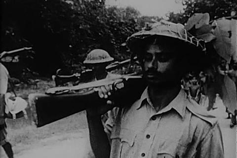 Insurrection in Bangladesh continues in 1971 Footage