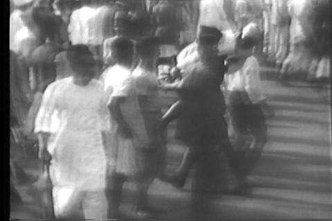 Raw silent footage of Gandhi in India in 1930 Footage