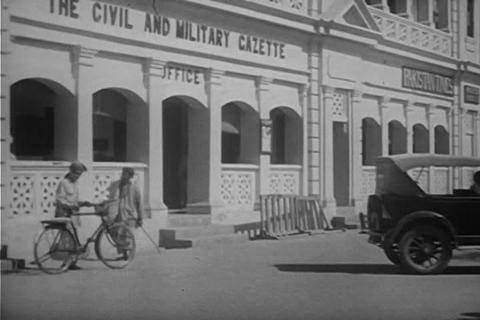 Karachi, Pakistan in 1950 Footage