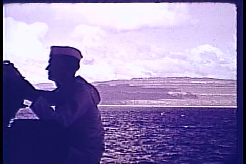 FDR tours the Caribbean in 1940 Footage