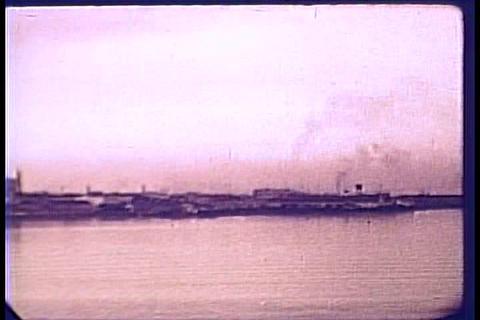 FDR visits Charleston, South Carolina in 1940 Footage