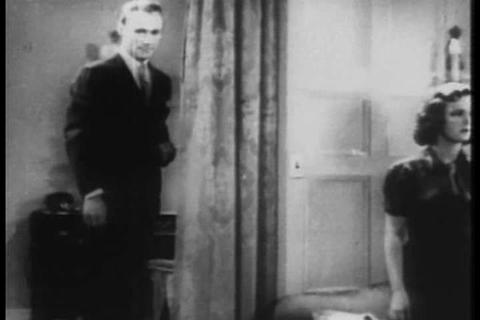 Marijuana use at parties in the 1930s causes peopl Stock Video Footage