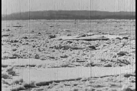 The great Potomac River flood of 1936 Footage