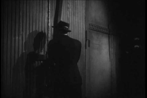 Generic detective movie scenes from the 1930s Footage