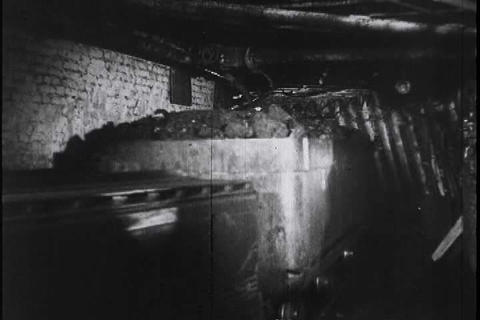 German Newsreel From 1944 Shows German Industrial  stock footage
