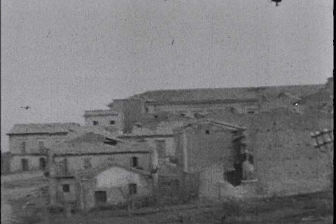 German newsreel from 1944 shows Nazi battles in It Live Action