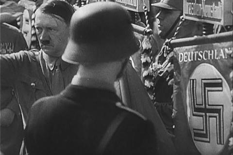Hitler at the Nuremberg Rally Footage