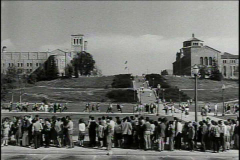 UCLA campus in 1948 Live Action