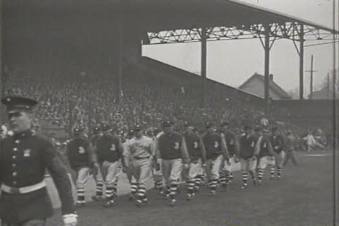 Opening day for the Detroit Tigers in 1930 Live Action