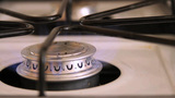 Gas Stove Top Lights stock footage