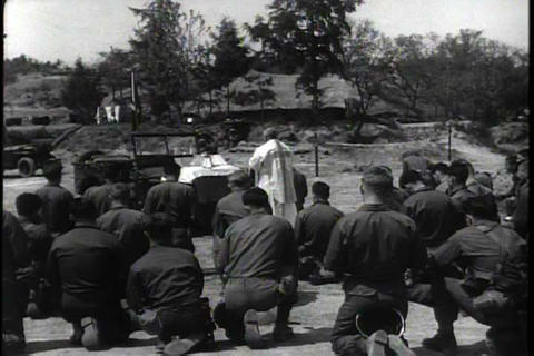 The army chaplain is an ethical resource for fight Footage