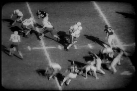 The California Stanford football game of 1959 Live Action