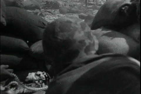 Silent film about the battles over beaches in Worl Footage