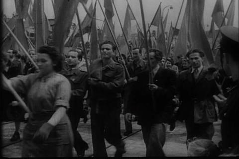 Poland falls under the influence of Stalin and the Footage