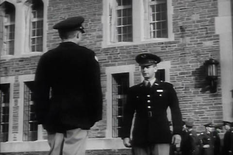 A recruiting film for career officers in the U.S.  Footage
