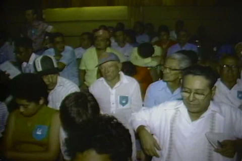1984 elections in Nicaragua are fixed and corrupt  Footage