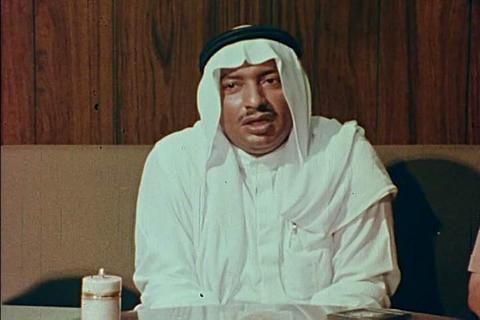 A rich businessman in Saudi Arabia talks about his Footage