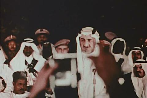 King Faisal of Saudi Arabia in 1973 Live Action