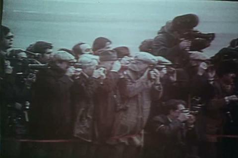 Hafez al-Assad of Syria meets with Leonid Brezhnev Footage