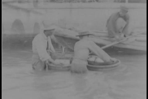 500,000 die in flood in Hankow, China in 1931 Live Action