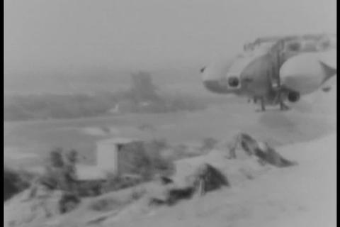 A 500 passenger model blimp is introduced in 1931 Footage