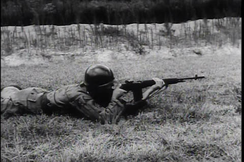The United States army and CIA develop new weapons Footage