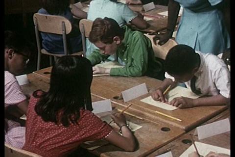 A study of New York City public elementary schools Footage