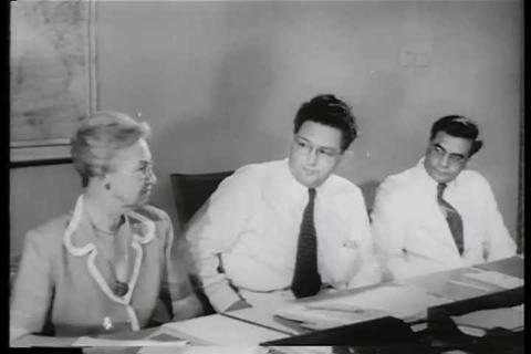 Disease Affects India In The 1950s And America Rea stock footage