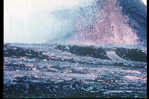 1960s footage of Hawaii's volcanic eruptions Live Action