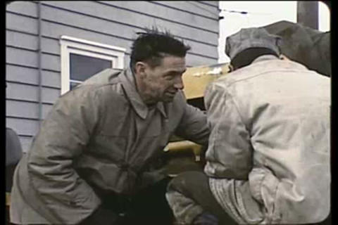 Eskimos in the Arctic visit relatives in the 1950s Live Action