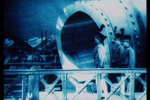 Silent film from 1902 depicts a trip to the moon Footage